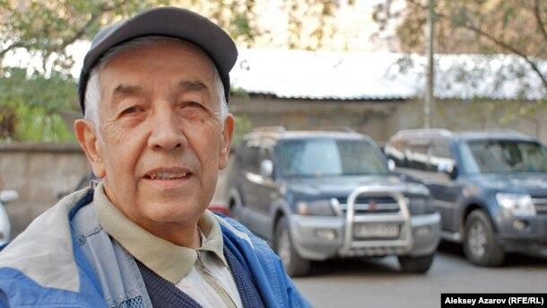Совет армиясы ардагері Тим Ханафеев. Алматы, 21 қазан 2011 жыл.