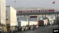 گمرک ابراهیم خلیل در مرز ترکیه و عراق