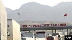 منفذ خابور الحدودي بين تركيا والعراق