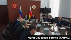 Министр по делам Северного Кавказа Лев Кузнецов во Владикавказе