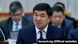 Kyrgyz Prime Minister Mukhammedkalyi Abylgaziev