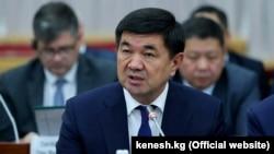 Премьер-министр Кыргызстана Мухаммедкалый Абылгазиев.
