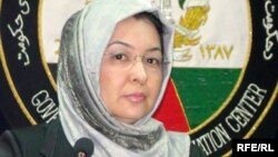 Acting Afghan Health Minister Sorya Dalil (file photo)