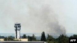 Сепаратисти намагаються захопити аеропорт Донецька відтоді, як від кінця травня його утримують українські війська, архівне фото