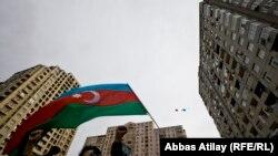 Жамиль Гасанлының кампаниясы. Әзербайжан, 5 қазан 2013 жыл.