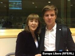 Monica Macovei cu Paul Radu
