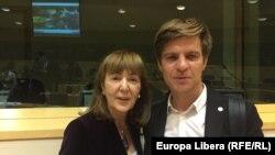Паул Раду и европарламентарий Моника Маковей