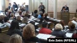 Ivo Josipović na regionalnoj konferenciji o položaju žena, Zagreb, 18. listopada 2012.