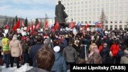 Мусорные протесты в Архангельске (Архивное фото)