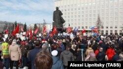 Митинг в Архангельске