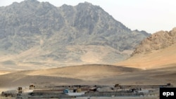 Военная база в провинции Кандагар на юге Афганистана.