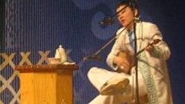 Айтыскер ақын Жандарбек Бұлғақов. Алматы, 21 наурыз 2010 жыл.