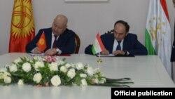 Главы делегации подписали протокол по итогам переговоров в Исфаре, 14 января 2020 года