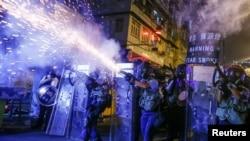 Пулитцеровская премия Рейтер за освещение протестов в Гонконге. Лучшее