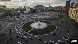 Площадь Тахрир в Каире в годовщину революции. 25 марта 2016 года