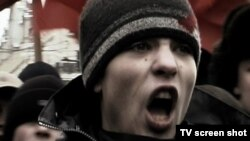 """""""Революция, которой не было"""" - скриншот из фильма о нацболах"""