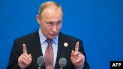Володимир Путін на прес-конференції 15 травня 2017 року не помітив успіху «Євробачення» в Києві
