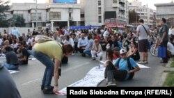 Протест против полициска бруталност.