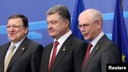 Ուկրաինայի նախագահ Պետրո Պորոշենկոն Եվրամիության առաջնորդների հետ, արխիվ