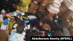 إتلاف مواد مخدرة متنوعة صودرت في البصرة - 2 حزيران 2014