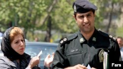 Iran's morality police are back on the beat. (file photo)
