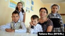 Eugenia și copiii ei