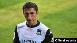 """Odil Axmedov (foto """"Krasnodar"""" FK rasmiy saytidan olindi)"""
