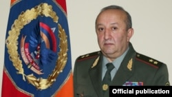 Глава Генштаба ВС Армении Мовсес Акопян (архив)