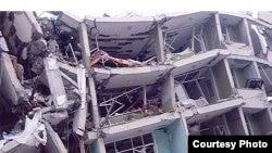 Турецкий город Ван после землетрясения 23 октября