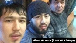 Ahrol Azimov o'g'illari Akrom va Abror bilan