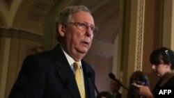 میچ مک کونیل رهبر جمهوریخواهان در مجلس سنای امریکا