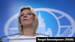 Спикер МИДа России Мария Захарова