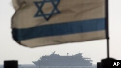 Корабль Мави Марамара, который подвергся штурму израильского спецназа