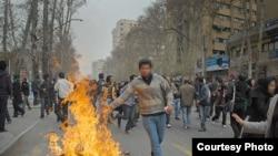 تظاهرات در روز عاشورا در تهران