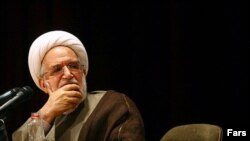 Mehdi Karrubi (file photo)