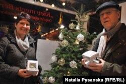 Кріста і Карл Майєри в українському павільйоні