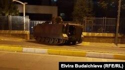 Թուրքիա - Զրահամեքենա Ստամբուլում, հուլիս, 2016թ․