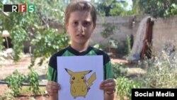 Pokemon-ların fotolarını tutan suriyalı uşaqlar dünyadan kömək istəyir.