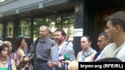 Акция народных депутатов у здания Генпрокуратуры