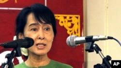 Лидер оппозиции Бирмы Аун Сан Су Чжи