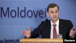 Moldova's Central Bank Governor Dorin Dragutanu (file photo)