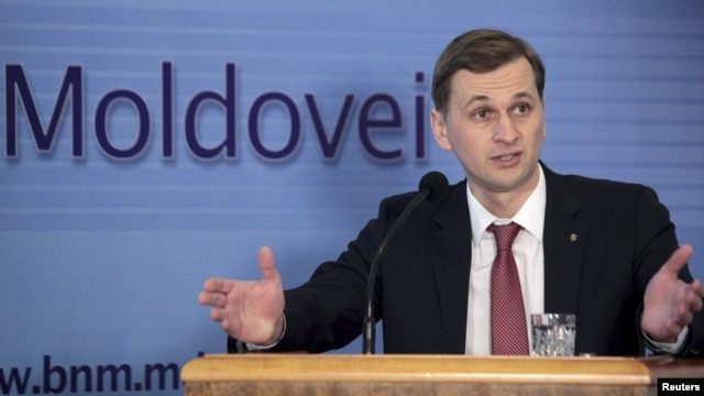 Moldova's Central Bank Governor Dorin Dragutanu (file photo)