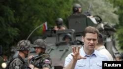 Српскиот преговарач во преговорите со Косово, Борислав Стефановиќ