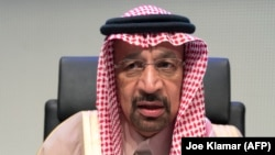 Saudi Energy Minister Khalid al-Falih says an oil output cut will likely be extended for nine months at current levels.