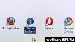 generic -- Internet browser software icons - Mozilla Firefox, Internet Explorer, Opera and Google Chrome, 03Auf2011