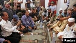 Переговоры представителей Национального переходного совета со старейшинами из города Бани-Валид