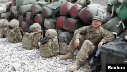 Američki vojnici u Afganistanu, ilustracija