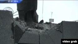 Подрыв памятника Ленину в Донецке