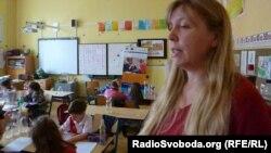 Вчителька другого класу середньої школи в Увалах Моніка Галачкова