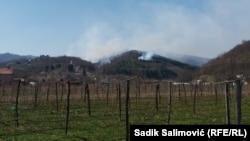 Požari kod Srebrenice